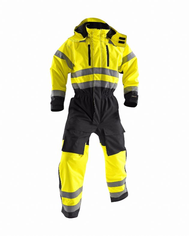 Blaklader Workwear | 6763 Winter Overall High Visibility | High Visibility Clothing
